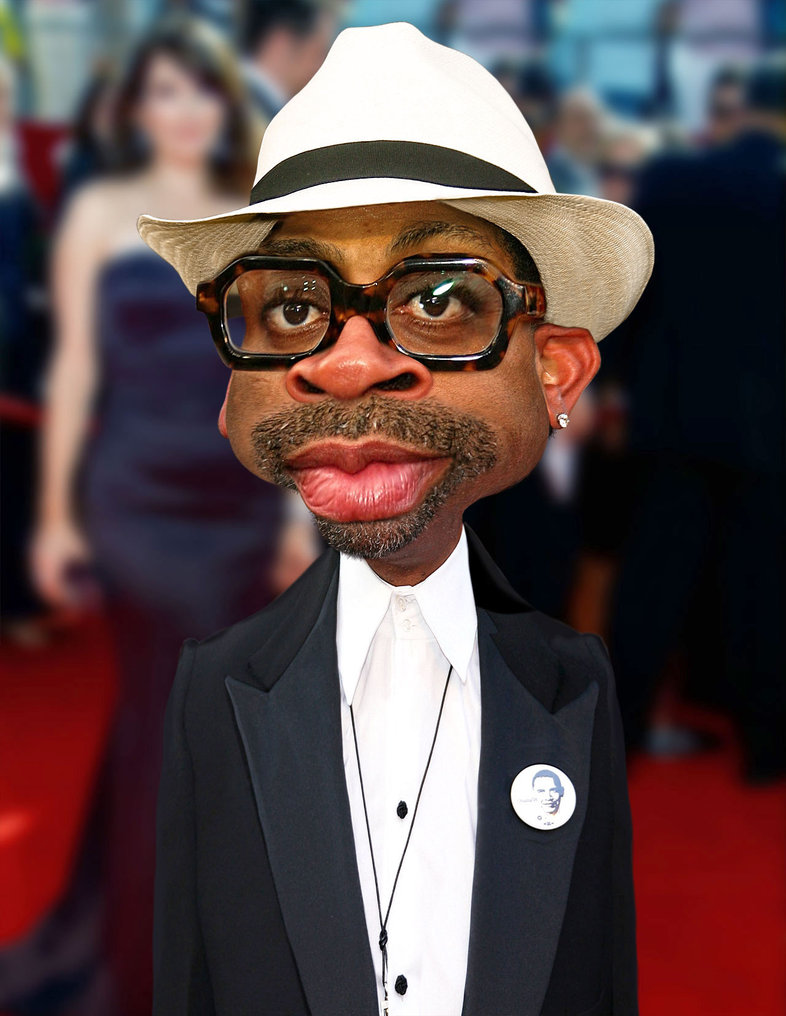 Spike Lee caricature