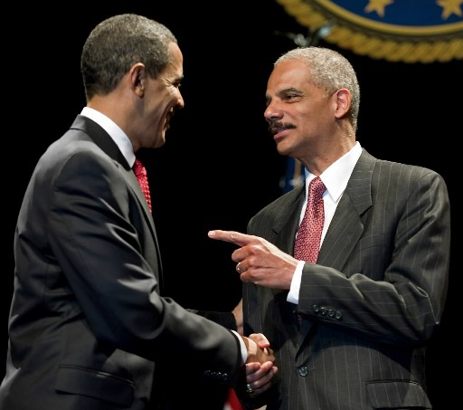 Eric Holder, Attorney General: Legalizing Corruption