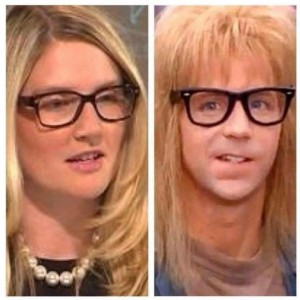 Marie Harf…as in Harfing or To Harf.