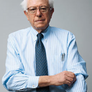 OK, Bernie, now pull up those shirtsleeves as if you're going to work for The People.