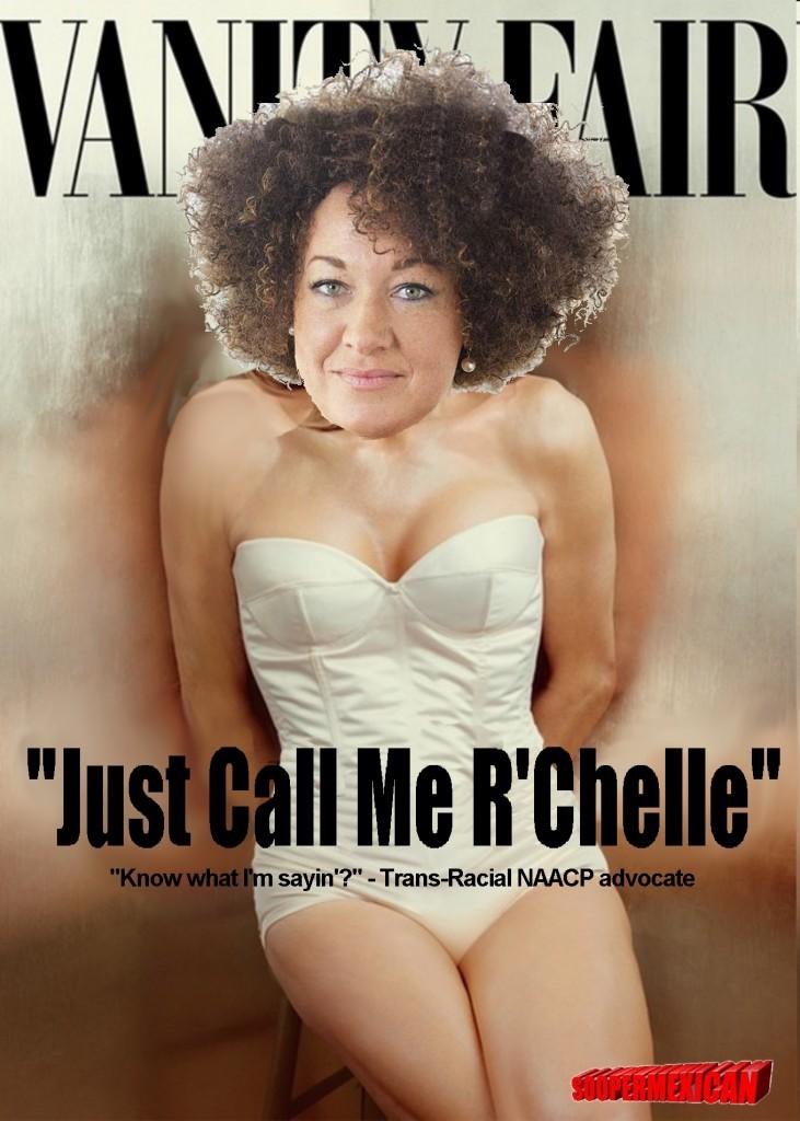 Rachel Dolezal: Born too White