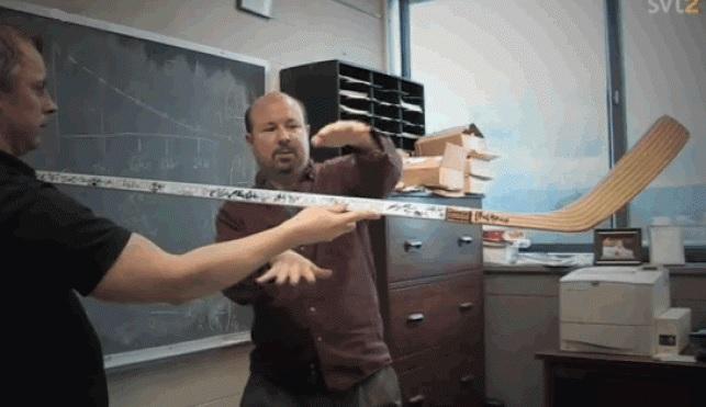 Michael Mann doing science.