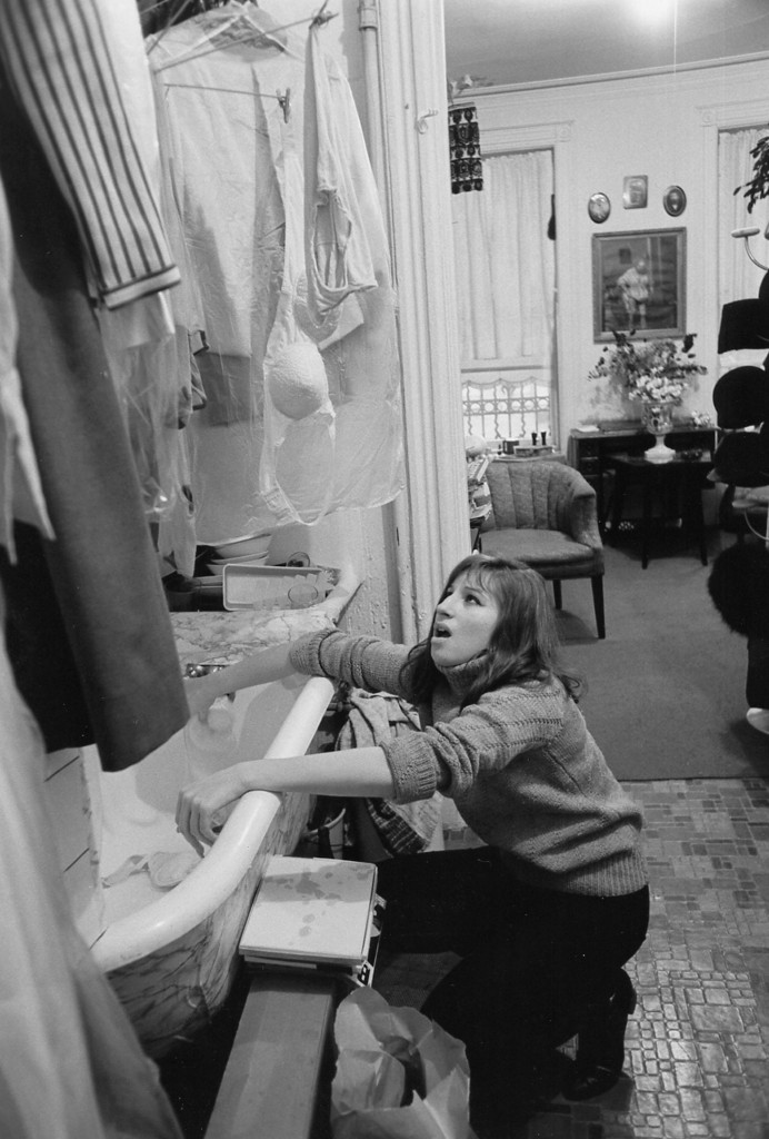 Proof that there was a time when Barbra actually washed her own clothes and didn't tell other people how to wash theirs.