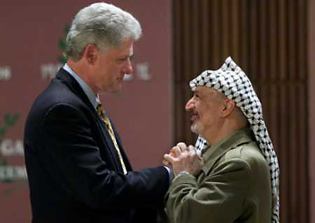 Yasser Arafat: The most welcome visitor to the Clinton White House…and the most infamous anti-semite of modern times since Hitler.