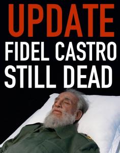 fidel-still-dead