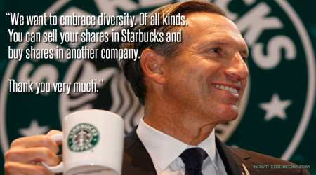 Howard Schultz-The original Latte Liberal