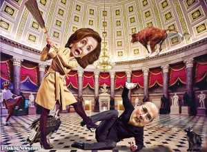 Nancy Pelosi: Estrogen Edsel, Unsexed Political Robot