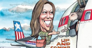 Dem POTUS hope Kamala Harris: right color, right (lack of) character