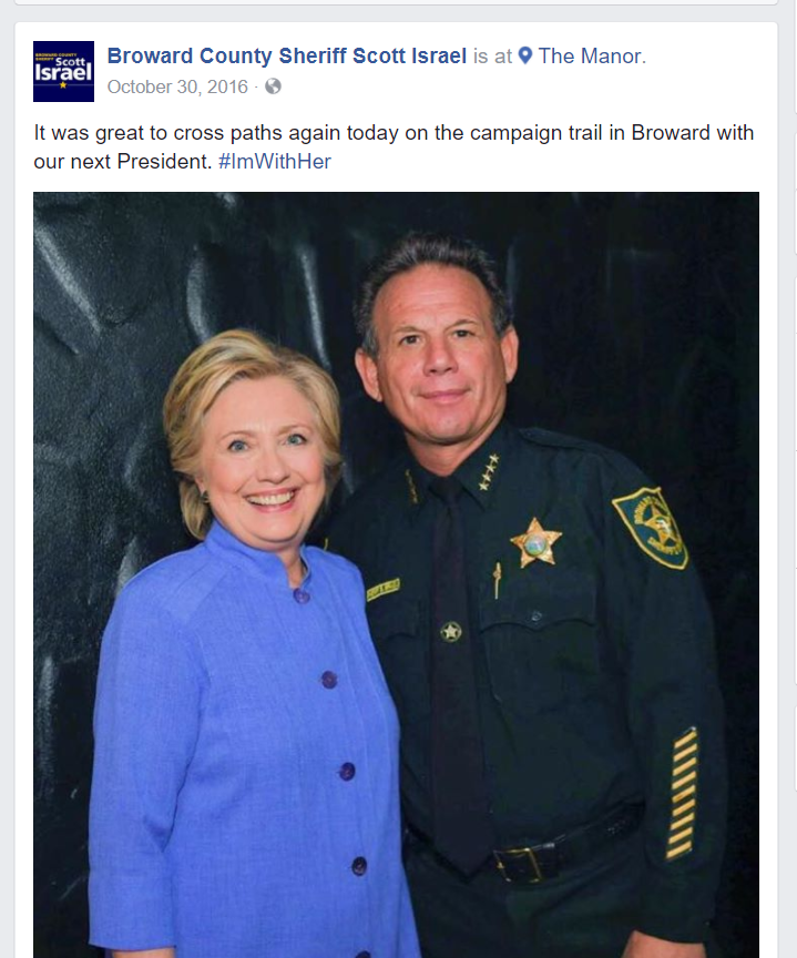 He's With Her!
