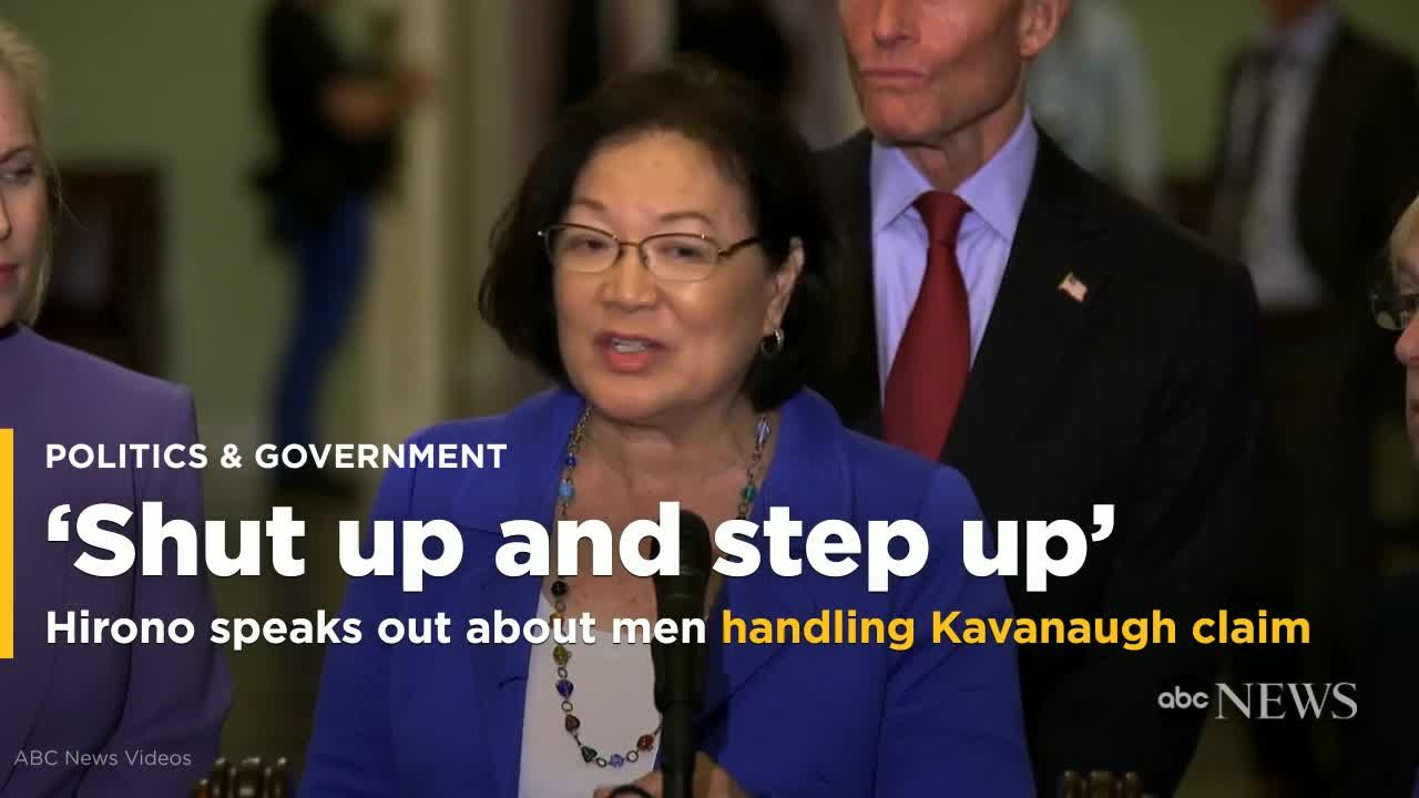 Mazie Hirono: making a name for herself as Hawaii's very own homegrown hateful harridan.