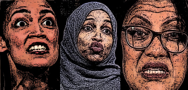 Anti-Semitism goes mainstream! Ilhan Omar & Rashida Tlaib:Those merry Muslim Congressional She-Devils